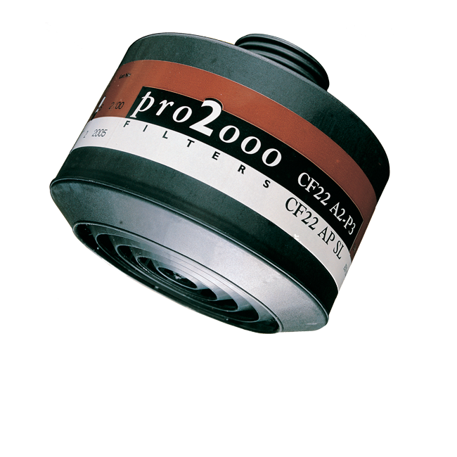 Pro2000 Combination Filters For Full Facemasks & Profile 40 Halfmasks