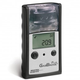 Gas Badge Plus 2 Year NO2 (Nitrogen Dioxide) Single Gas Detector